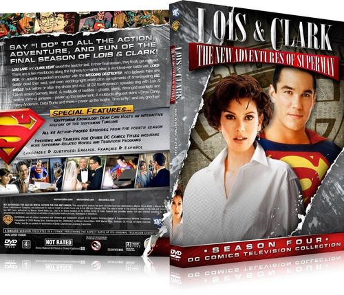 box lois & clark as novas aventuras do superman 4ª temporada