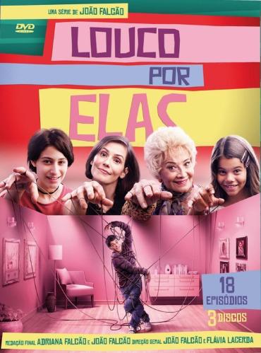 box louco por elas - 3 dvds - lacrado - original