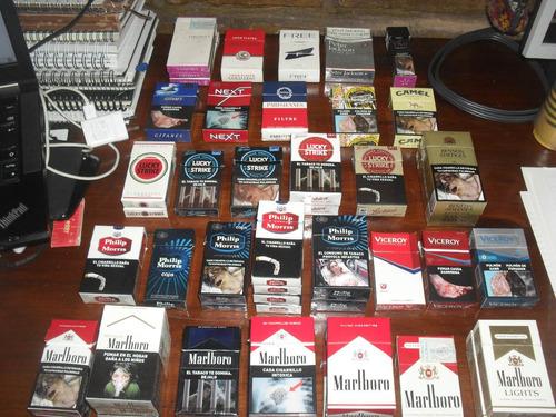 box marlboro lights, de 20 cigarrillos rubios - vacios