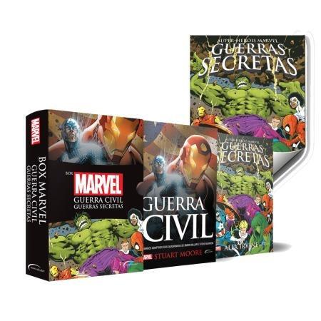 box - marvel - 2 volumes