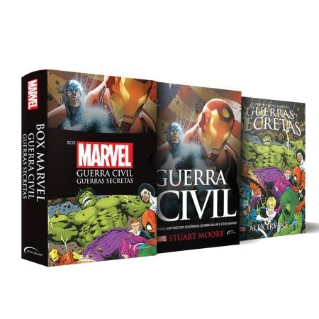 box - marvel - 2 volumes