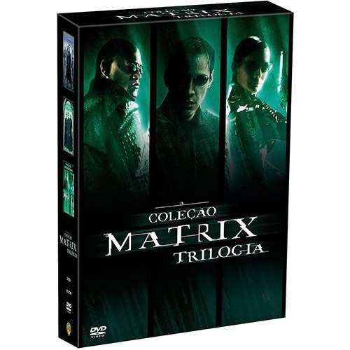 box matrix trilogia - os 3 filmes (3 dvd) novo e lacrado