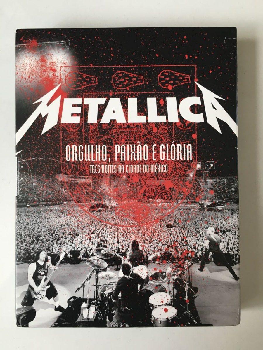 cd metallica orgulho paixao e gloria