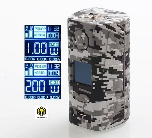 box mod hugo vapor rader eco 200w + bat