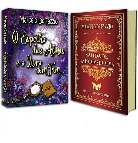 box  o espelho das almas e o livro sem fim... + saudade...