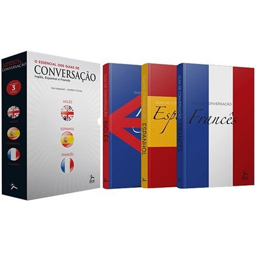 box o essencial dos guias de conversação (3 livros) #