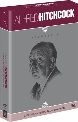 box original: alfred hitchcock apresenta 1ª temporada 8 dvds