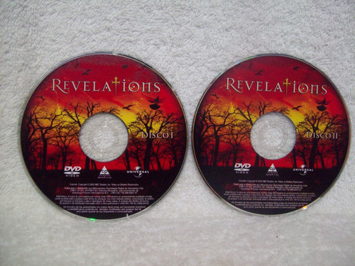 box original com 02 dvds- revelations