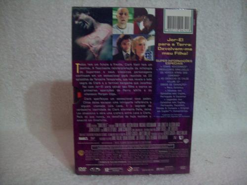 box original com 06 dvds smallville- 3ª temporada completa