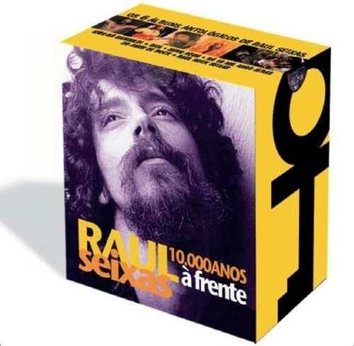 box original raul seixas - 10.000 anos a frente - 6 cd's