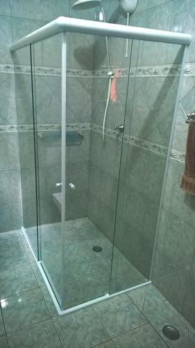 box p/  banheiro vidro temperado 8 mm poa e região r$ 210/m2