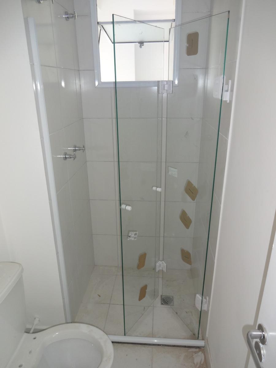Box De Vidro Para Banheiro Sp E Região À Partir De R$65,00m2  R$ 65,00 em Me -> Banheiro Pequeno Largura