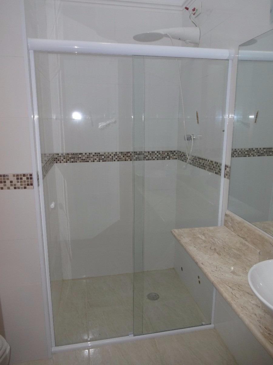 Box Para Banheiro Vidro Temperado 8mm Incolor (tipo Blindex)  R$ 10,00 em Me -> Box Para Banheiro Rio Pequeno