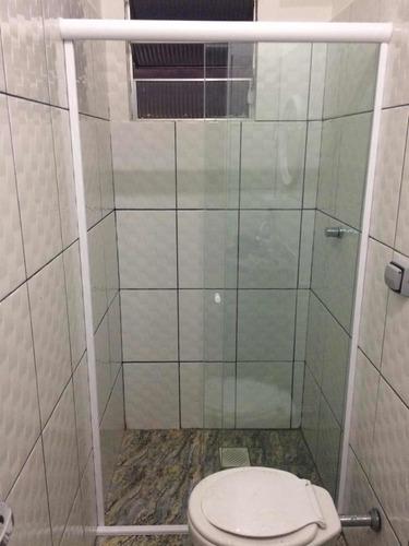 box para banheiro vidro temperado , incolor de 8mm
