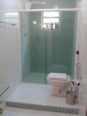 box para banheiro,vidro temperado 8mm,incolor (tipo blindex)