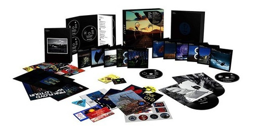 box pink floyd / (nuevo sellado) cd+bluray+dvd+vinilo y mas