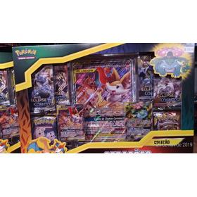 Box Pokemon Charizard E Braixen (aliados) Com Carta Jumbo
