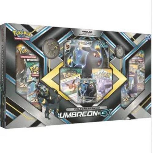 box pokémon coleção premium umbreon-gx  - copag