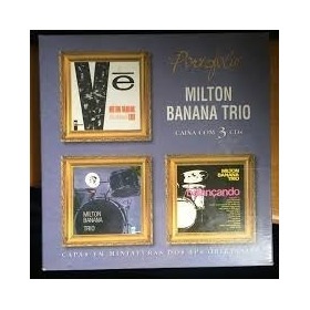 Box Portfolio 3 Cds - Milton Banana Trio