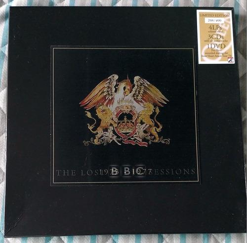 box queen the lost bbc sessions limitado e numerado