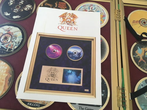 box queen ultimate 20 gold cd display limited edition