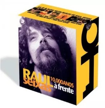 box raul seixas - 10.000 anos a frente - 6 cd's