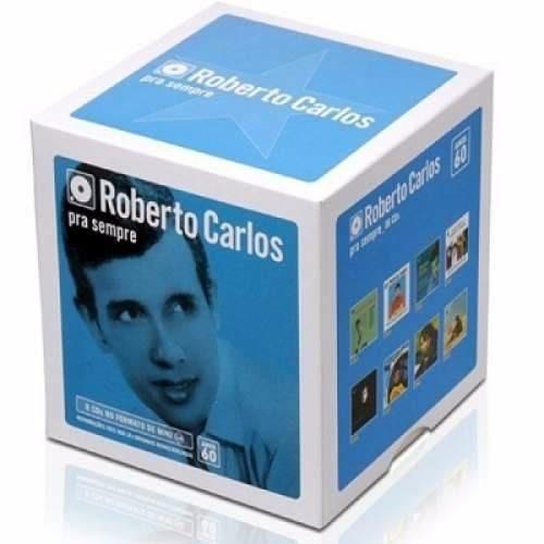 box roberto carlos - para sempre anos 60 - 8 cds - original