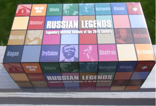 box russian legends (soloists of the 20th century) 100 cd