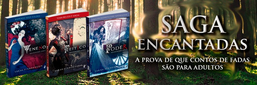 box - saga encantadas (3 livros) edição econômica - adulto