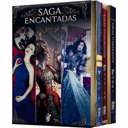 box saga encantadas(3 livros) sarah pinborough -frete grátis