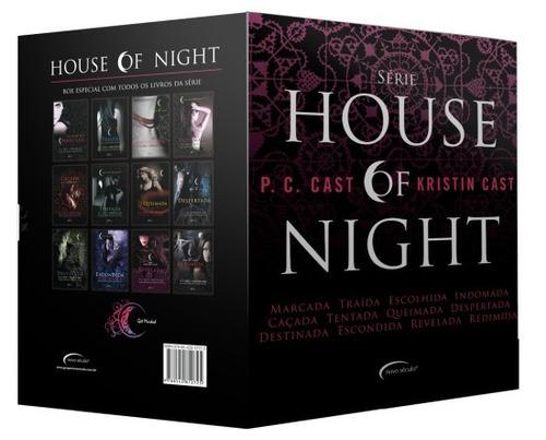 box série house of night - 12 volumes - lacrado