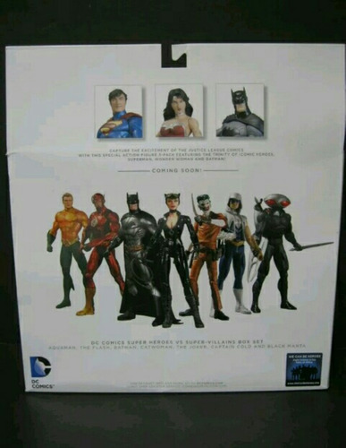 box set  dc trinity war- the new 52.