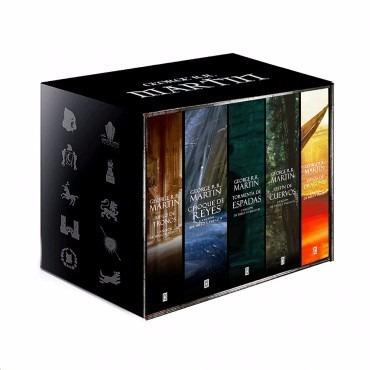 box set juego de tronos 5 libros game of thrones español