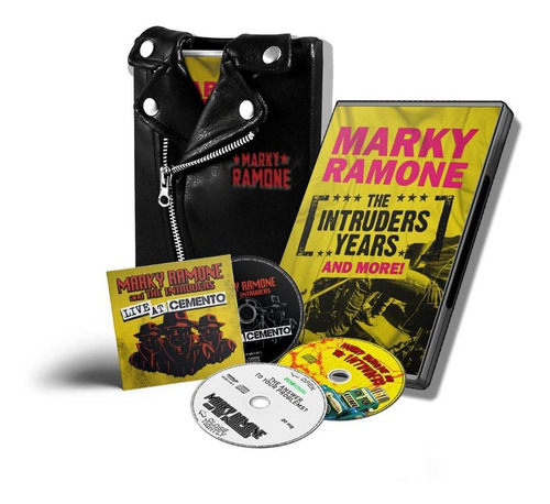 box set marky ramone  the intruders years and more