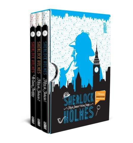 box - sherlock holmes - 3 volumes