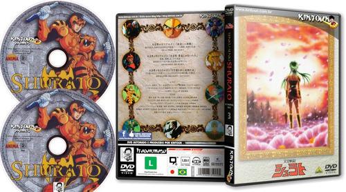 box shurato - série completa dublada + ovas 10 dvds