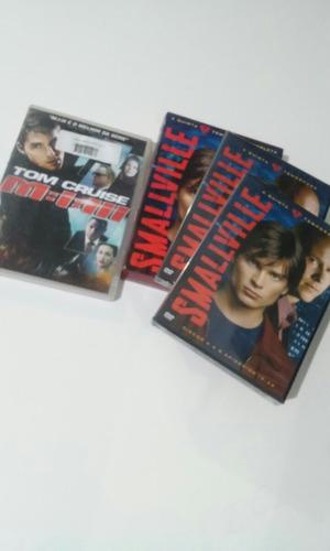 box smallville 5 temporada original+missão impissível 3