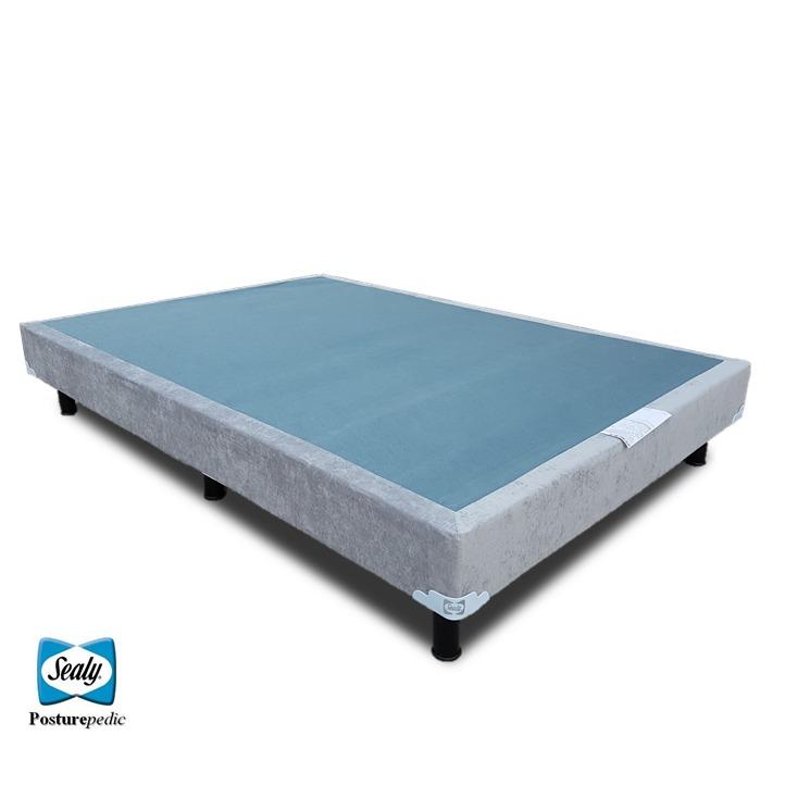 Box spring sealy individual para cama y base para colchon for Colchones para cama matrimonial
