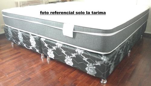 box tarima king zize 3 plazas nuevo