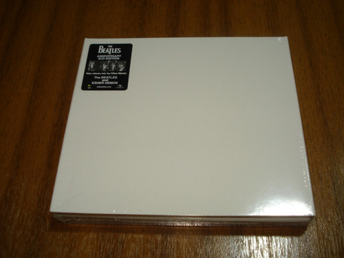 box the beatles / album blanco (nuevo y sellado) 3 cd eur