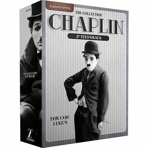 box - the collection chaplin  carlitos- 2ª temporada - d2404
