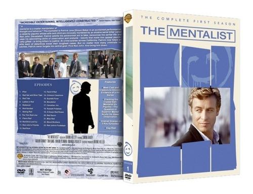 box the mentalist 1ª a 7ª temporada dublado - 34 discos