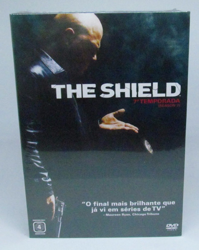 box the shield 7a temporada 4 discos com luva lacrado
