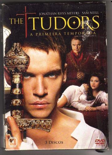 box the tudors - 1ª temporada, 3 dvds - jonathan rhys meyers