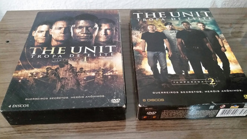 box the unit: tropa de elite temporadas 1 e 2