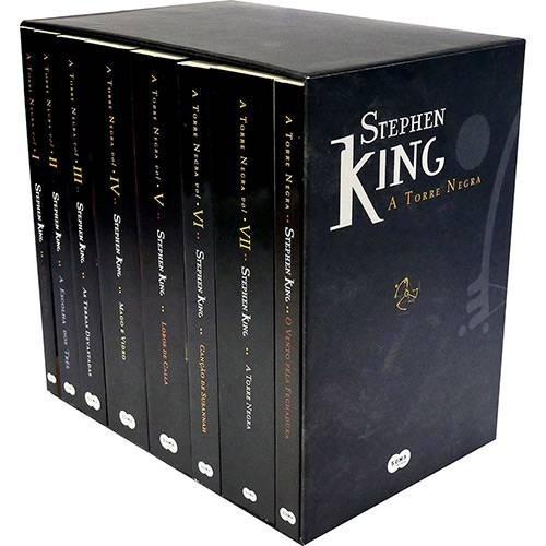 box torre negra coleção livro - 8 volumes stephen king leia!