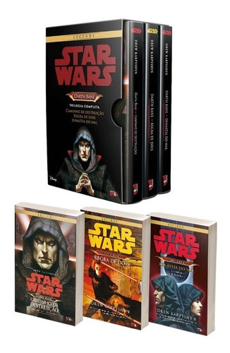 box trilogia darth bane: trilogia completa - star wars
