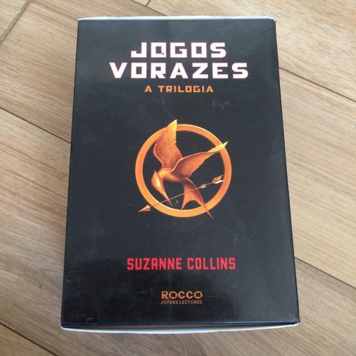 box - trilogia jogos vorazes - 3 volumes - suzanne collins