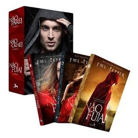 Box Trilogia Não Pare - Livros Lacrados