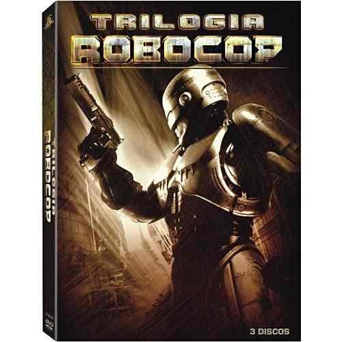 box trilogia robocop (3 dvd) lacrado (3 filmes da franquia)